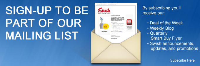 Swish Cleaning Product Mailing List